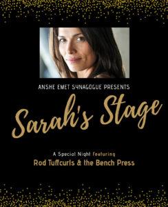 Sarah's Stage with Photo of Sarah Danielle Goldberg